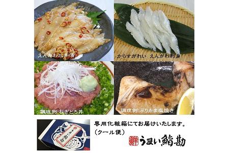 A014 鮨屋が選ぶ海産物4種セット