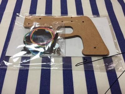自分で作り遊べるゴム銃・まと工作セット