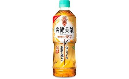 PET600ml×24本 爽健美茶 健康素材の麦茶