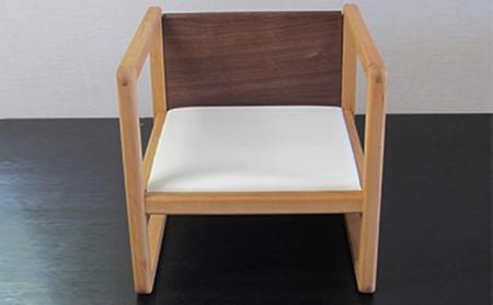 幼児用多用途椅子 コロコロコロ・・・ (白)
