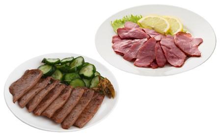 味の牛たん喜助 牛たん詰合せ 3種各90g、牛たんスモークチップ 120g