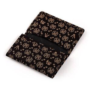 なまはげ館オリジナルデザイン印伝 名刺入(黒)