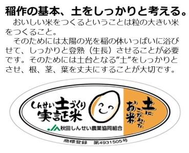 H05028 ひとめぼれ 精米 10kg  特A米 秋田県産 土づくり実証米 甘味 旨味