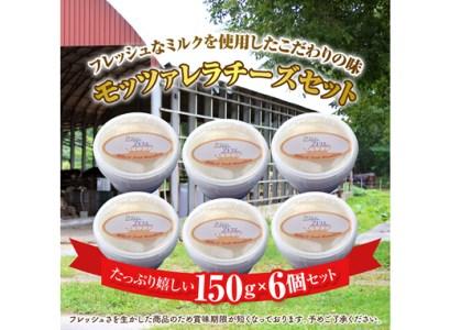 モッツァレラチーズ6個入セット【15001】
