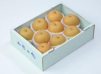 FY19-642【令和2年産先行予約】【柔らかい果肉とあふれる果汁】山形産和梨(あきづき)秀3kg
