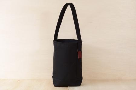 縦型トートバッグ SLANT BAG(スラントバッグ) ブラック