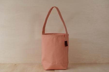 縦型トートバッグ SLANT BAG(スラントバッグ) ピンク