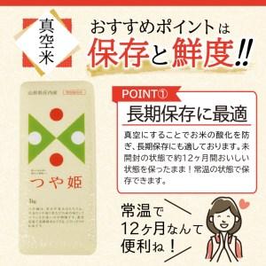 SA0318 令和元年産米 庄内米つや姫6kg JM