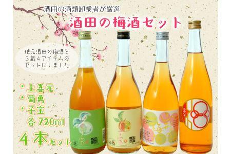 SC0044 酒田の梅酒セット