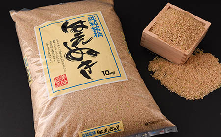 2020年産「はえぬき玄米」10kg 山形県寒河江産 <米食味ランキング高評価 > 010-C02