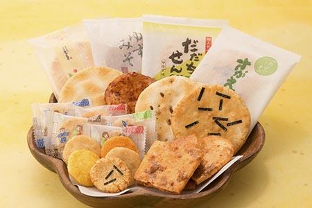 さがえ屋煎餅 たっぷり大満足セット 010-G10