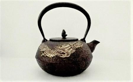 0016-2005 鉄瓶 雲龍