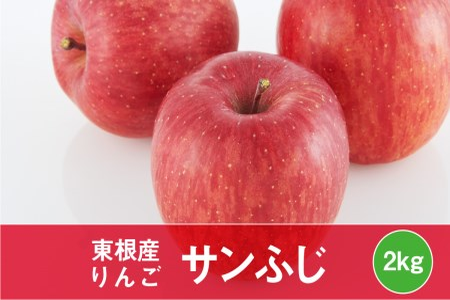 P-1248 りんご「サンふじ」2kg JA提供(2020年11月下旬~12月中旬送付)