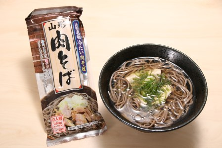 A-0034 山形ご当地麺三昧(鳥中華、冷たい肉そば、そば屋の中華 各10人前) みうら食品提供