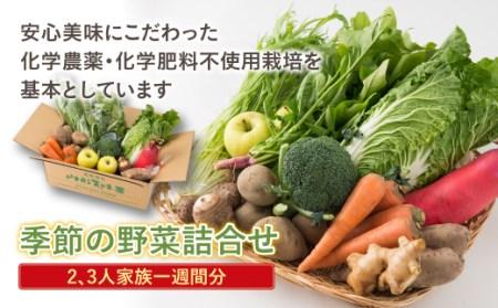 【おきたま興農舎】季節の野菜詰合せ F20B-245