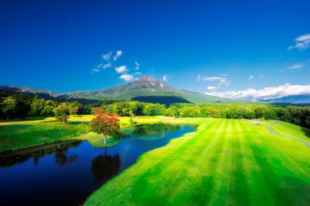 <平日ペア利用>星野リゾート ゴルフクラブと温泉ホテルセット利用券