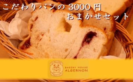 005f001 こだわりパンの3000円おまかせセット