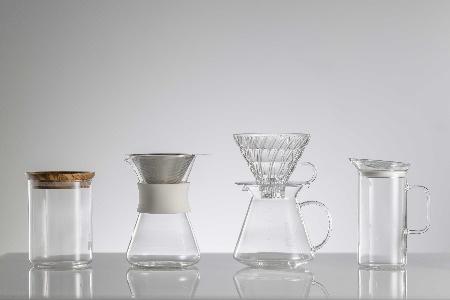 BE29_HARIO S-GCM-40-W Glass Coffee Maker