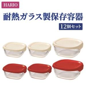 BD33_HARIO 保存容器12個セット