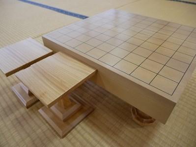 【将棋盤】桂20号(足付き)駒台セット