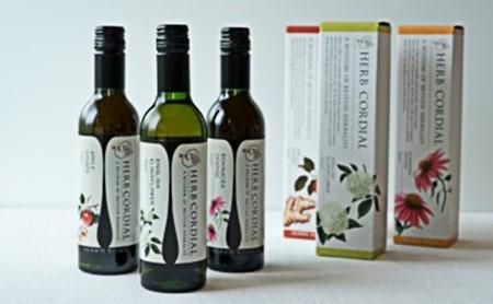 生活の木メディカルハーブガーデン薬香草園 ハーブコーディアル 季節のおすすめ3本セット