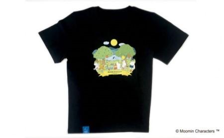 ムーミン メインアートT シャツ(ブラック) L