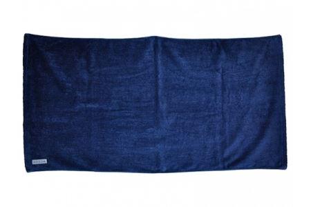 藍染めバスタオル