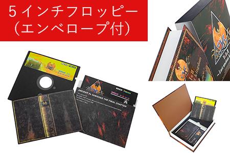 X68000用5インチFD版 イースⅠ&Ⅱ ~Lost ancient kingdom~