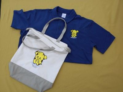A12-1 ゾウキリンポロシャツとトートバッグ【Aセット】