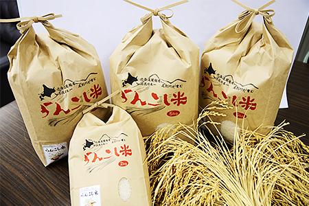 らんこし米 食べくらべセット(令和元年産 ななつぼし 5kg ゆめぴりか 5kg)