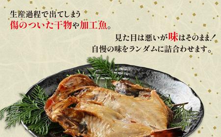 訳あり詰合せ(干物、骨取魚、味付け魚)