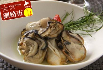 [Ta502-Q039]北海道産牡蠣のオリーブオイル漬 3本