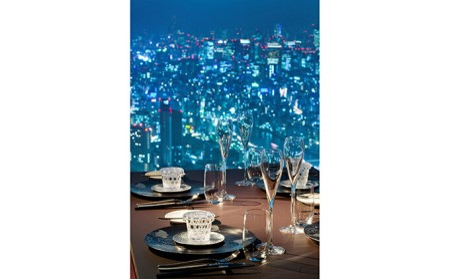 東京スカイツリーSky Restaurant634ディナー「粋コース」ペア利用券(東京スカイツリー(R)天望デッキ入場券付)