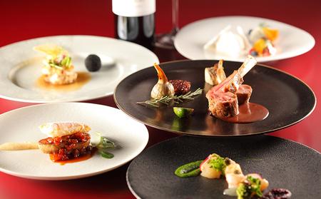 東京スカイツリーSky Restauran634ディナー「雅コース」ペア利用券(東京スカイツリー(R)天望デッキ入場券付)
