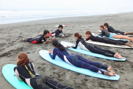 湘南茅ヶ崎サーフィン体験スクール 1回