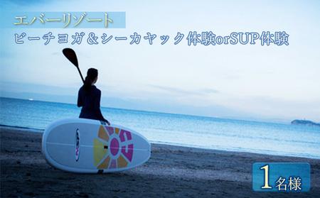 【大人の休日 】逗子海岸で過ごす「ビーチリゾート体験プラン」1名様