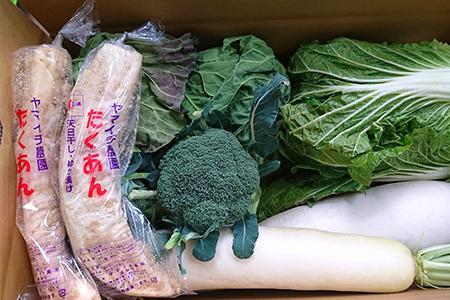 1-10【三浦農家直送】まいるどたくあんと冬野菜セット