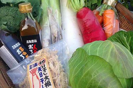 1-20冬野菜セット(8品目の野菜詰め合わせ・ドレッシング入り) ※ご入金締切1月15日まで