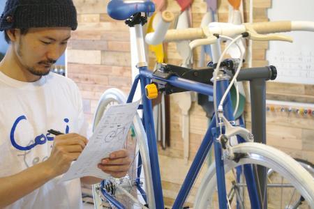 198-01Cocci Pedaleの世界で一台だけの自転車を作るクーポン券(059)