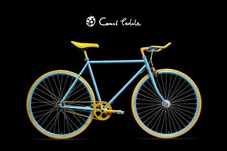 200-02Cocci Pedaleの世界で一台だけの自転車を作るクーポン券(060)