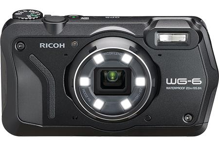 【2618-0046】リコーデジタルカメラ WG-6(ブラック)