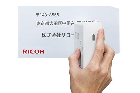 【2618-0065】リコー ハンディープリンター Handy Printer(レッド)