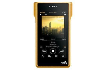 【2618-0031】ソニー ウォークマンWM1シリーズ[メモリータイプ]  NW-WM1Z  (N)ゴールド