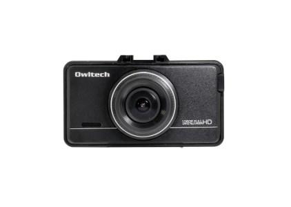 あおり運転対策に前後2カメタイプでしっかり撮影できるドライブレコーダー OWL-DR802G-2C