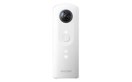 [№5826-0080]全方位・ハイスペックデジタルカメラ<RICOH THETA SC>WHITE