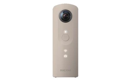 全方位・ハイスペックデジタルカメラ<RICOH THETA SC>BEIGE