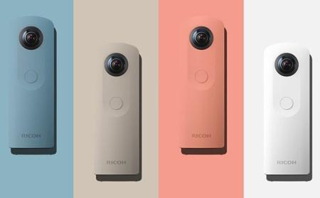 [№5826-0082]全方位・ハイスペックデジタルカメラ<RICOH THETA SC>PINK