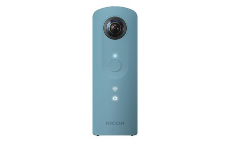 [№5826-0083]全方位・ハイスペックデジタルカメラ<RICOH THETA SC>BLUE