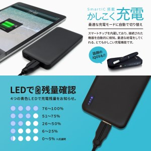 5000mAバッテリー OWL-LPB5005-BK