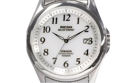 [№5826-0262]RICOH リコー ソーラー腕時計 アトランタ(型番:697005-01)